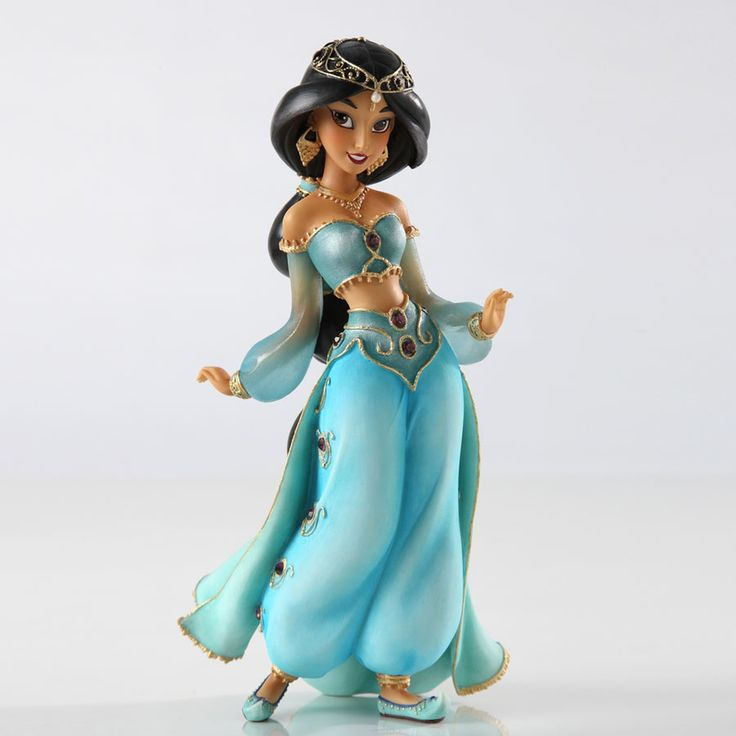 Aladdin - Jasmine Couture de Force - World-Wide-Art.com - #disney #disneyshowcase #figurines #aladdin #jasmine #couturedeforce