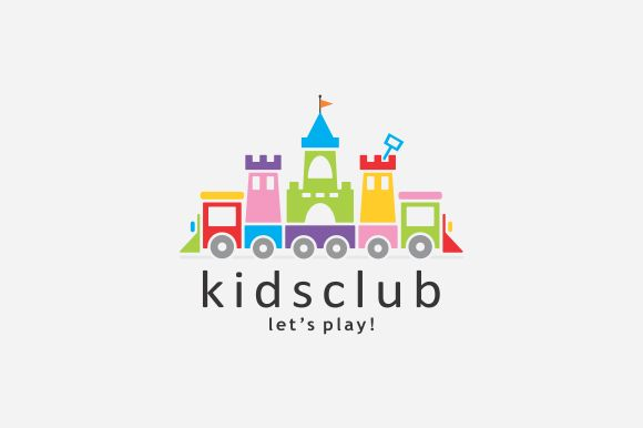 Kids Club Logo by A.R STUDIO on Creative Market