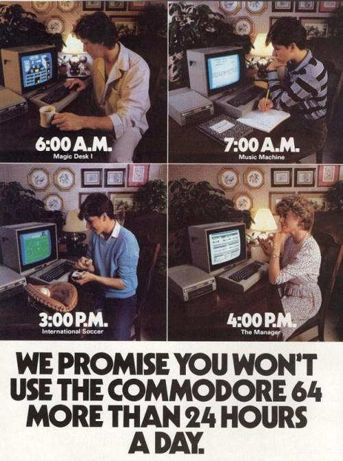 Commodore 64 Advertising!