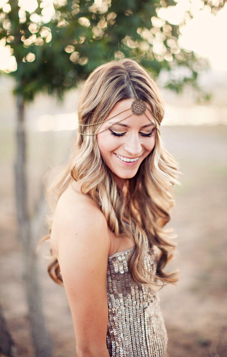 style, boho, gold, sequins; photo + styling: Clayton Austin