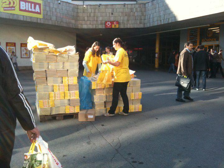 A takhle probíhala distribuce Zlatých Stránek v roce 2010 :-) #Mediatel #Distribuce