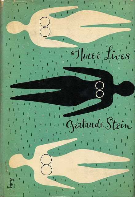 :: Three Lives cover by Alvin Lustig ::Covers Book, Life, Graphics Design, Covers Design, Book Covers, Alvin Lustig, Covers Art, Three Living, Gertrude Stein