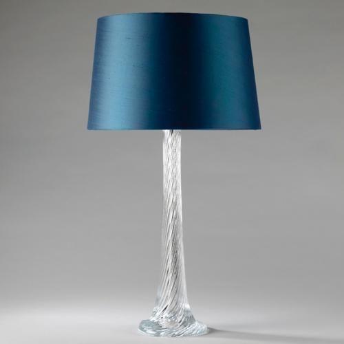 СВЕТИЛЬНИК РЯДОМ С КРОВАТЬЮ Vaughan Designs   Courcheval Twisted Crystal Lamp GL72/C