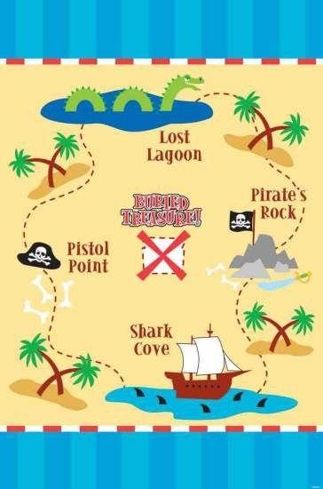 treasure game map