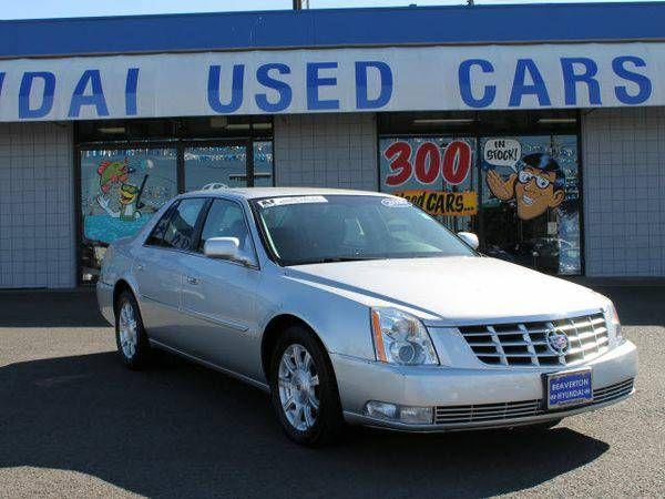 2010 *Cadillac* *DTS* 4.6L V8 *Oregon's #1 Hyundai Dealer Since 2006!*