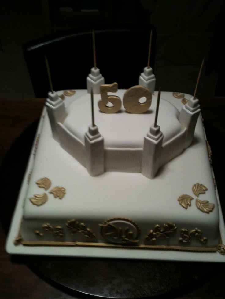 Church Anniversary Cake Images : 1000+ ideas about 50th Anniversary Cakes on Pinterest ...