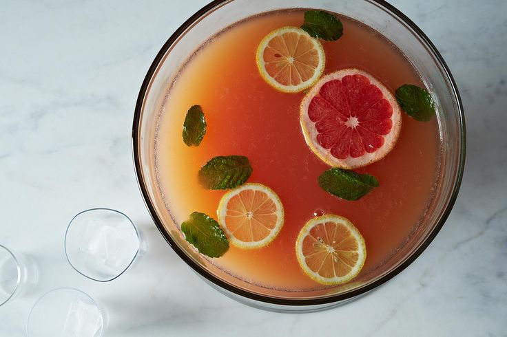 How to Make Punch Without a Recipe http://food52.com/blog/9278-how-to-make-punch-without-a-recipe #Food52