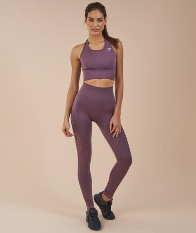 *The Energy Seamless Leggings run true-to-size, however, if you are in-between, we suggest going up a size. Check out our size guide and give yourself a measure