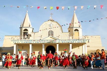 Plataforma web que agrupa información dispersa sobre la fiesta de La Tirana. Presentándola través de una línea histórica dividida en: iglesia, religiosidad popular y contexto social.