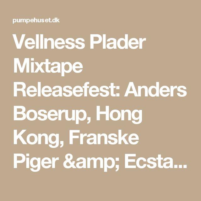 Vellness Plader Mixtape Releasefest: Anders Boserup, Hong Kong, Franske Piger & Ecstasy In Order - Pumpehuset