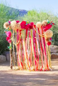 [DIY] Rideau de rubans #mariage #wedding