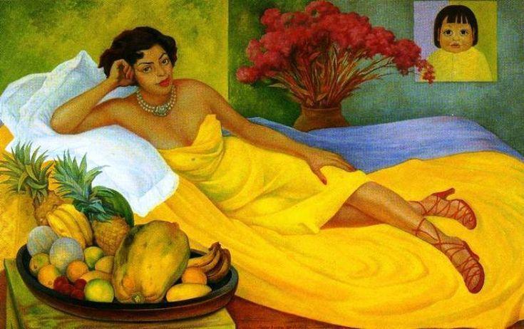 Diego Rivera, Ritratto di Dona Elena Flores de Carrillo,1953                                                                                                                                                                                 More