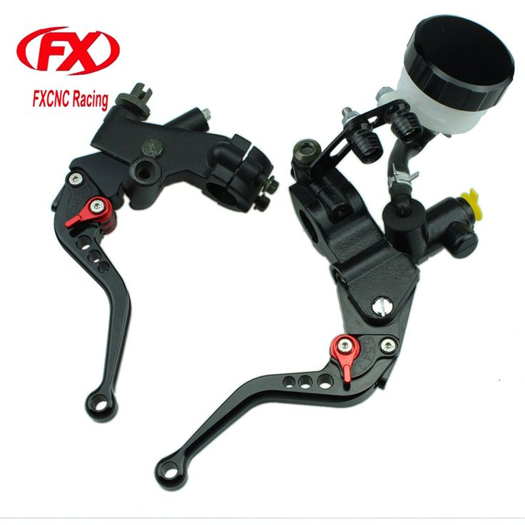 FX CNC 125-600cc 7/8 22MM Hydraulic Motorcycle Brake Cable Clutch Set Brake Lever For Yamaha DT125X 2005 Motorcycles