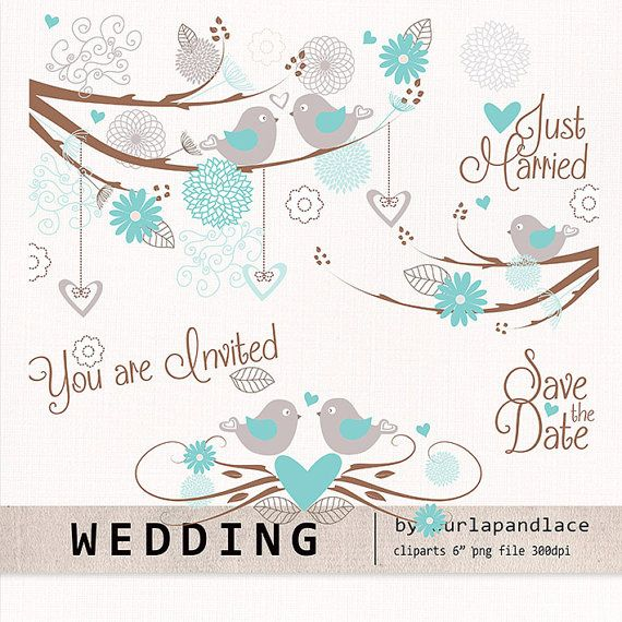 Wedding birds clipart flower, flower clipart, bridal clipart, dahlia clipart, chrysanths, mum flower, flower cliparts