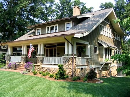 17 best images about porch railings on pinterest Craftsman homes in charlotte nc