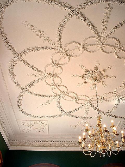 Ceiling II, Kings Weston House, Bristol