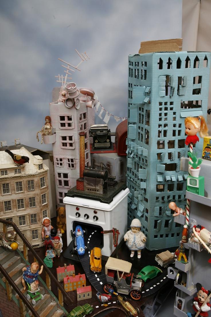 City center chaos...