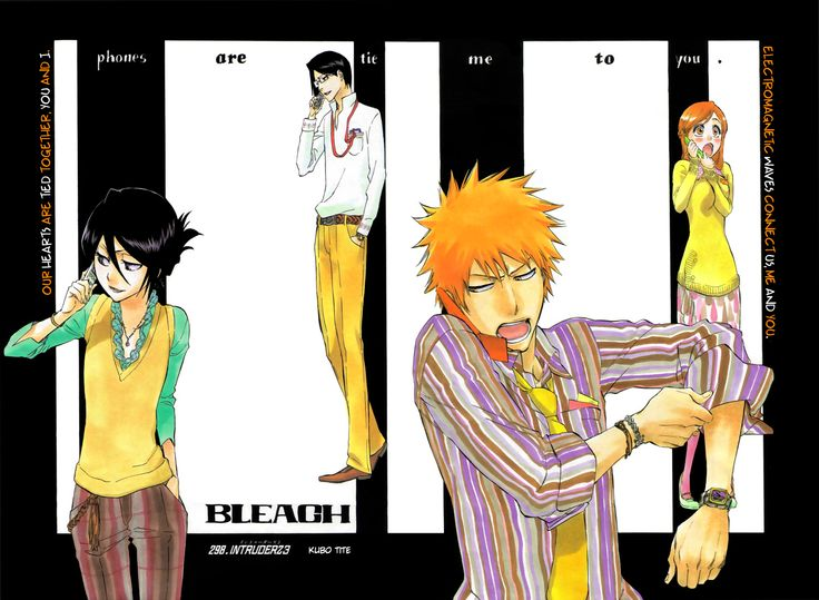 TO-WATCH: Bleach. Read a few volumes and I love Bleach already. Just haven't gotten the chance to read more. Haven't watched the anime yet.