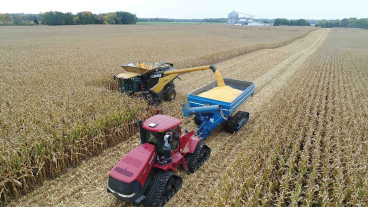 Miller Farms 2017 Corn & Soybean Harvest -- Oconomowoc WI #farming #organic #farm #farmers #farmersmarket #agriculture #outdoors #food