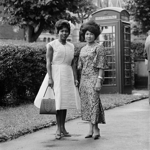 Wedding guests, London, c.1960  James Barnor