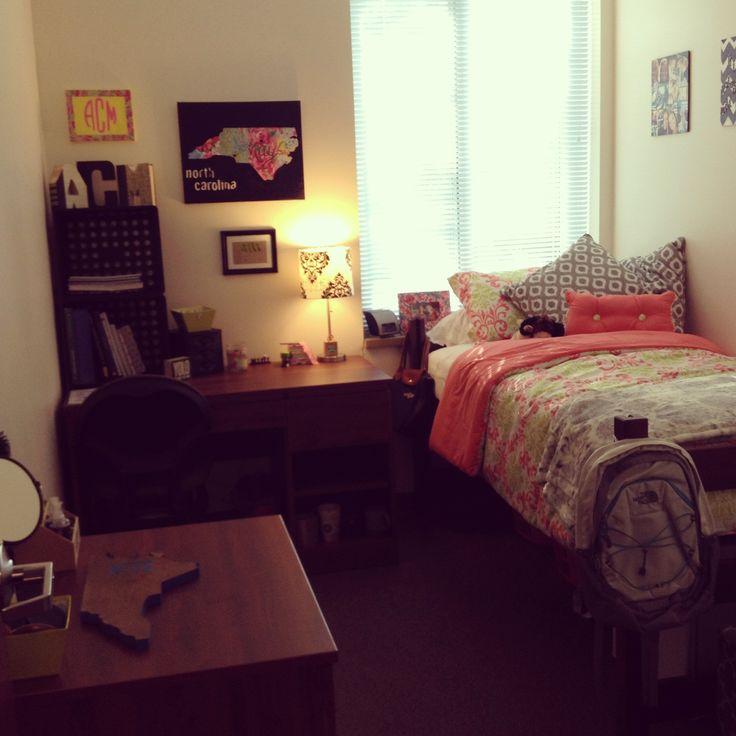 My Dorm At Uncc College Life Pinterest Dorm Dorm