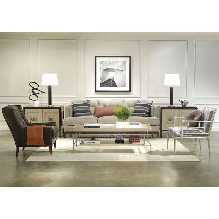Vanguard Furniture Langley Cocktail Table W417C BG