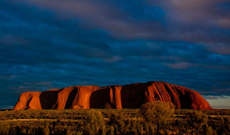 Uluru / Ayers Rock - heart of Australia.