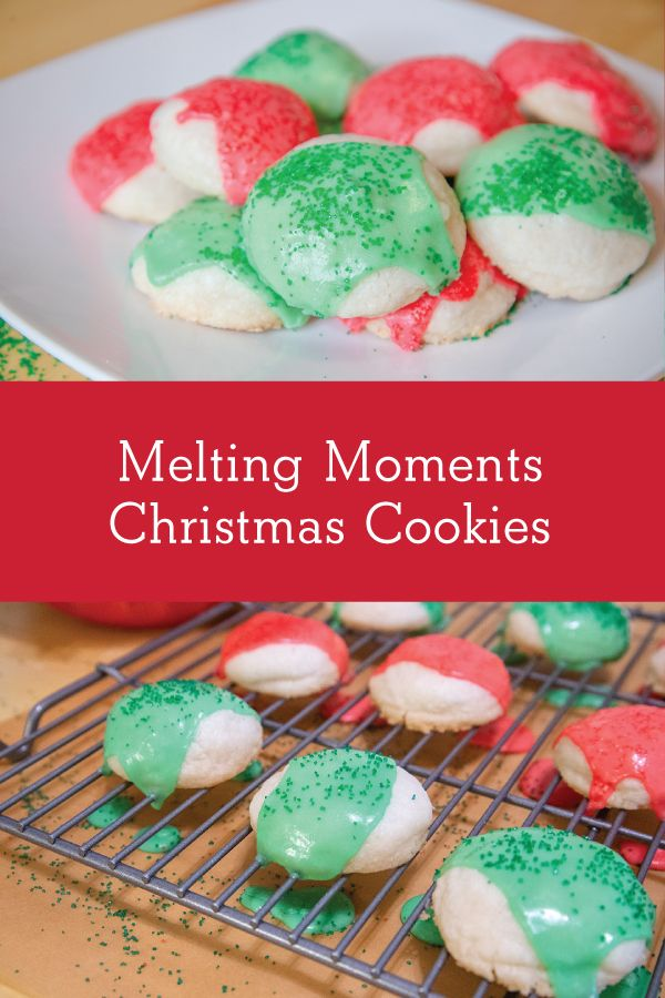 Melting Moments Christmas Cookies 2018 Holiday Cookie Bake Off