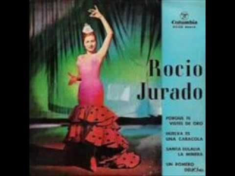 """ROCIO JURADO """"SANTA EULALIA LA MINERA"""" - YouTube"""