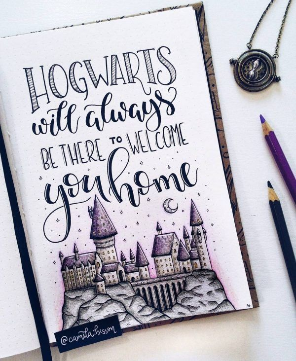 Part 1: 65 Spellbinding Harry Potter spreads – #creative #Harry #Part #Potter #S…