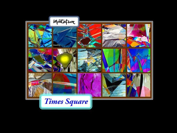Times Square  by Ulrico S. Montefiore via slideshare