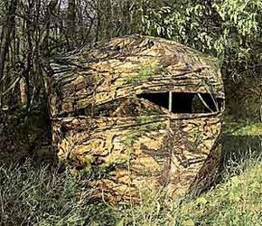 How to Hunt Deer From a Ground Blind