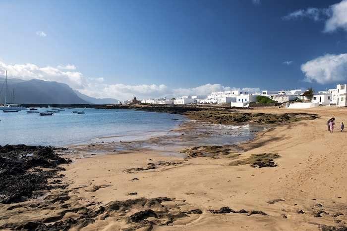 Lanzarote's peaceful neighbour - #LaGraciosa #beach
