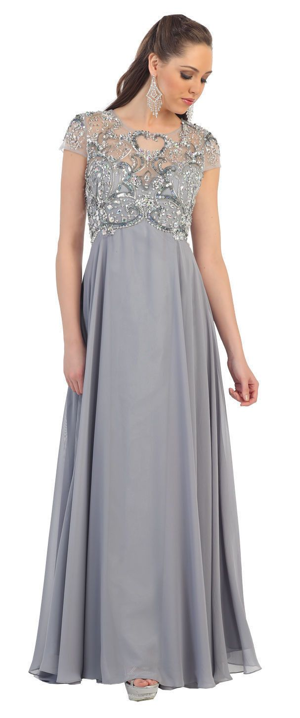 The dress images - Long Mother Of The Bride Dress 2018