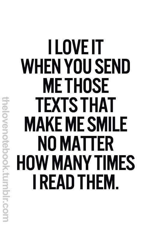 Texts that make me smile :)