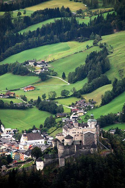 Scenic drive through AUSTRIA'S picturesque SALZACH VALLEY