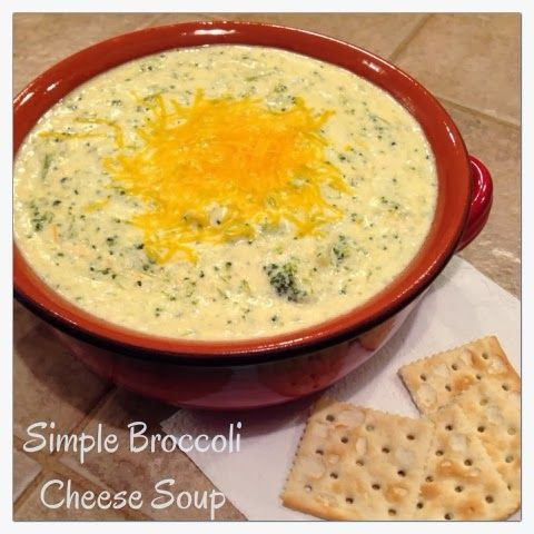 Simple broccoli cheese soup by Apple Dapple Pancakes...a mom's blog to ...