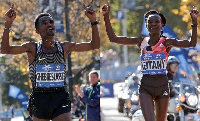 Kenya's Keitany, Eritrea's Ghebreslassie win NYC Marathon - http://a1viral.com/index.php/2016/11/08/kenyas-keitany-eritreas-ghebreslassie-win-nyc-marathon/