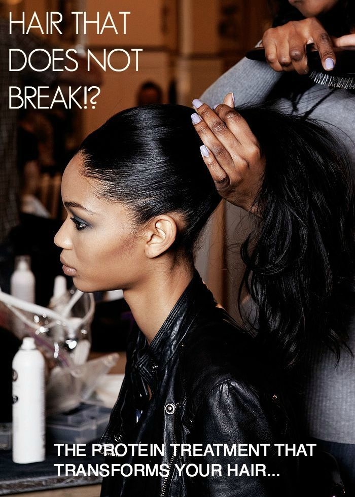 Relaxed Hair Health: Hair That Does Not Break?! The protein treatment that creates miraculously strong, shiny hair
