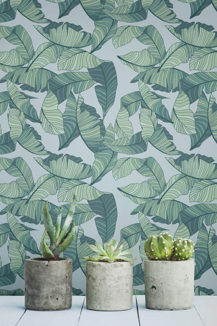 Blue-and-Green-Tropical-Leaf