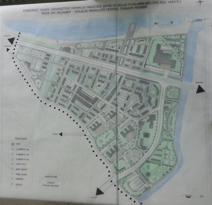 Akçaabat Yaylacık Mahallesi Kentsel Tasarımı