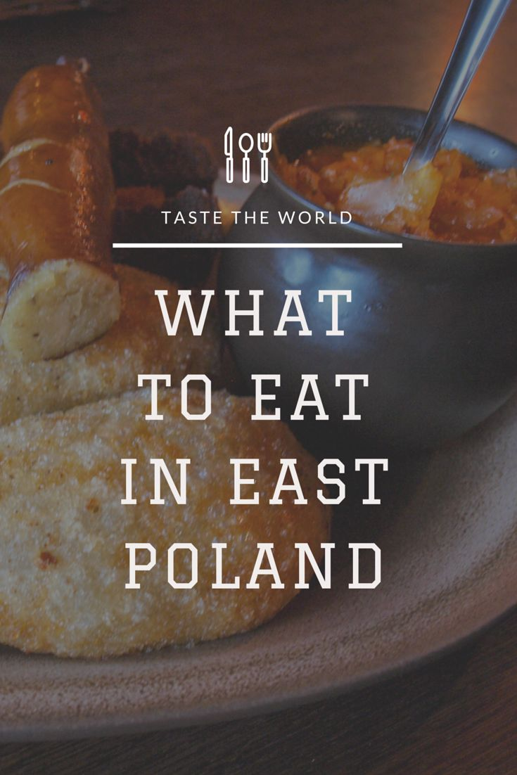 Have you ever heard about Polish cuisine? It's awsome! Every single region has its own traditions and amazing dishes. Read about the one from the wildest Polish area.  Article in Polish. Use translator