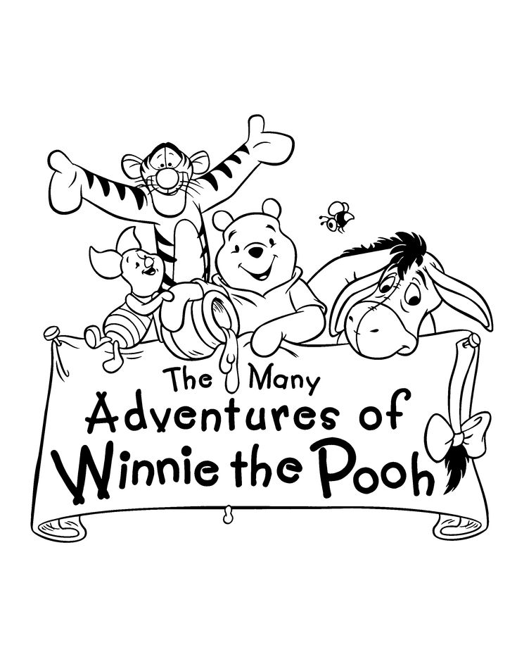 221 best It's Winnie the Pooh Day! Happy Birthday A A ...Eeyore Coloring Pages By Number