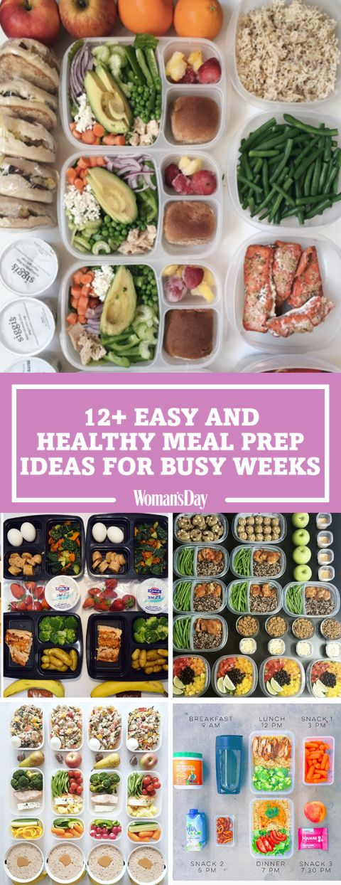 12 Healthy Meal Prep Ideas That Will Save You During Busy Weeks