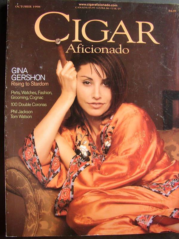 Gena Gershon. Women of Cigar Aficionado.