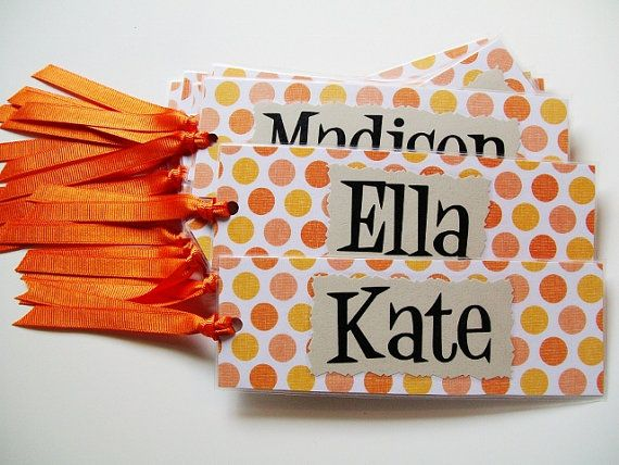 Personalized Bookmarks / Personalized Gifts / Classroom Gifts via Etsy