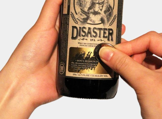 Disaster IPA (Student Project) on Packaging of the World - Creative Package Design Gallery