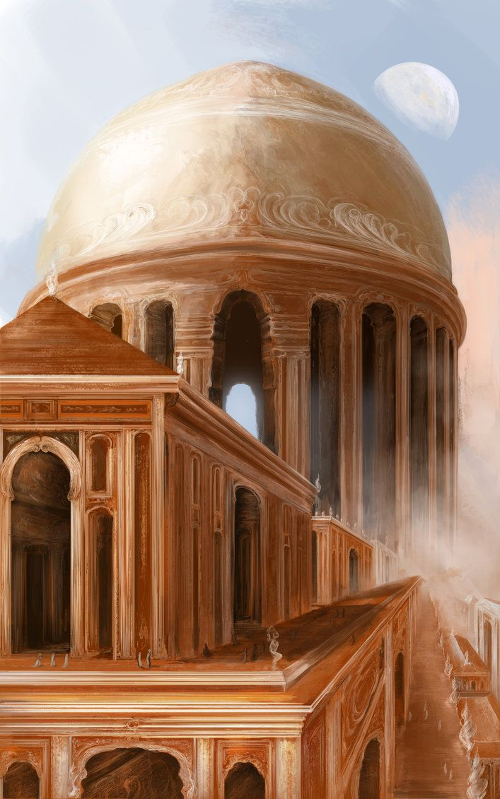Ancient City concept by ValentiniaK on DeviantArt