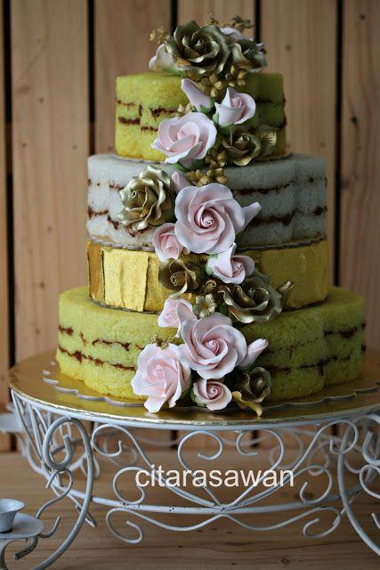 Pulut Kuning Perkahwinan 3 Tingkat - Fara Waheeda - Blog Citarasa wan