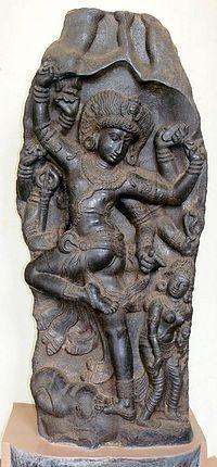"Gajasamharamurti.-Gajasurasamhara (lit. ""The Slayer of the elephant demon""), also Gajasamhara, Gajantaka and Gajaha (all three lit. ""the Slayer of the elephant"")[1] and Matangari (""The Enemy of the elephant""),[2] is a fierce aspect of the Hindu God Shiva as the Destroyer of the elephant demon, Gajasura."